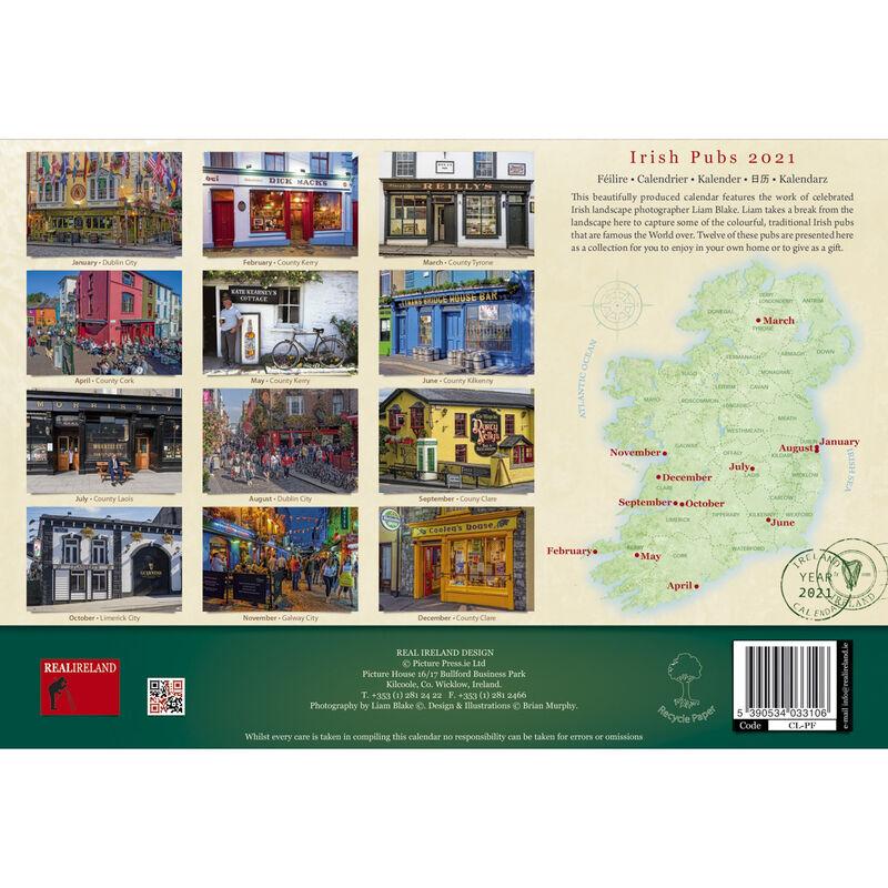 A4 Irish Pubs Calendar 2021 by Liam Blake