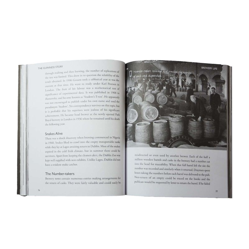 The Guinness Story by Edward J Bourke