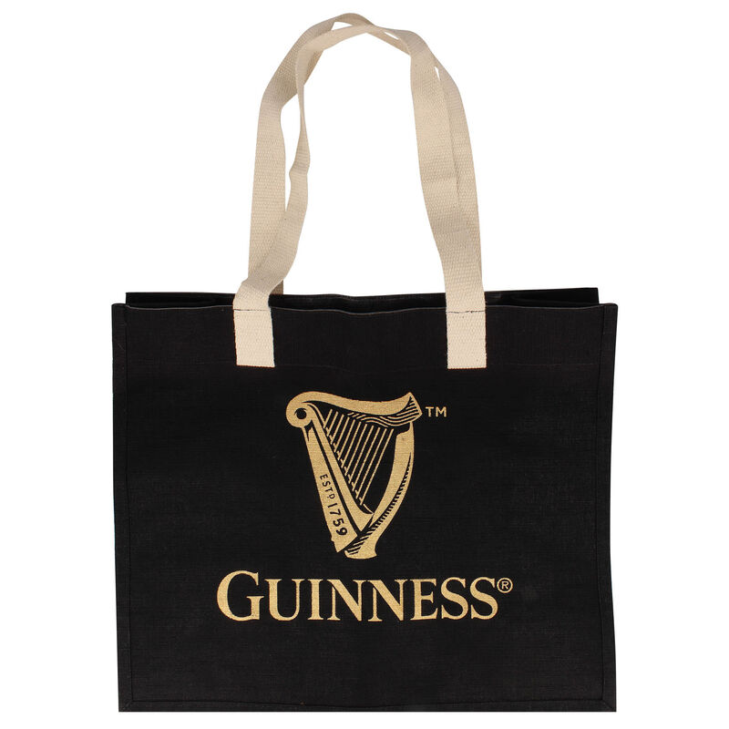 Official Guinness Merchandise Spacious And Classic Shopper Bag