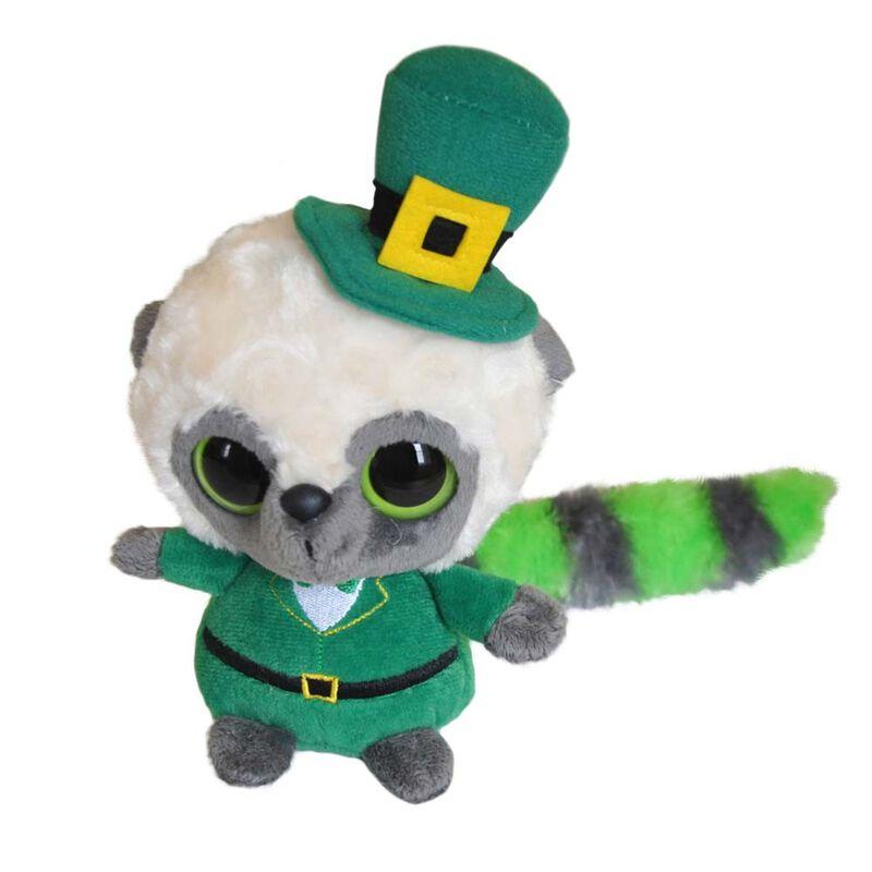 Irisches Yoohoo-Stofftier im irischen Anzug und mit Leprechaun-Hut