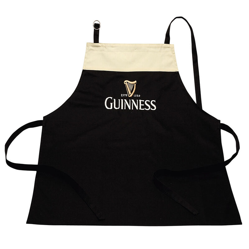 Guinness Apron In A Design Of A Pint With Adjustable Neck Strap