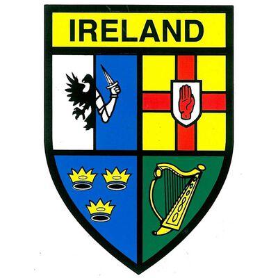 4 Provence's Ireland Sticker