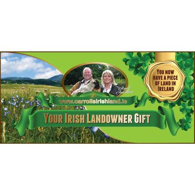 Irish Landowner Exclusive Gift Card – Own A Piece Of Land In Ireland