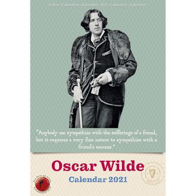 Slim Oscar Wilde 2021 Calendar