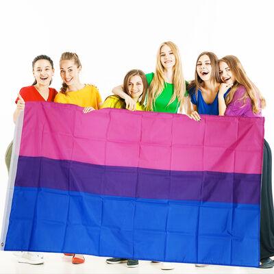 BI Sexual Flag 100% Polyester ( 3 X 5 Foot)