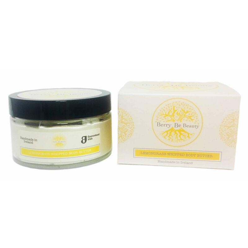 Berry Be Beauty Lemongrass Whipped Body Butter 200ml – Handmade in Ireland
