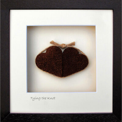 Bog Buddies Tying The Knot Turf Designed Hearts Wall Frame