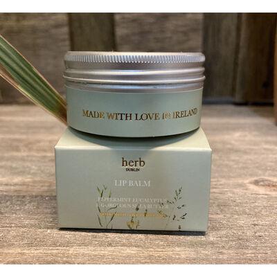 Herb Dublin Peppermint Eucalyptus Lip Balm With Gorgeous Shea Butter. 30ml