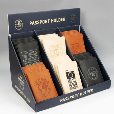 Harvey Makin Passport Covers - 6 Designs