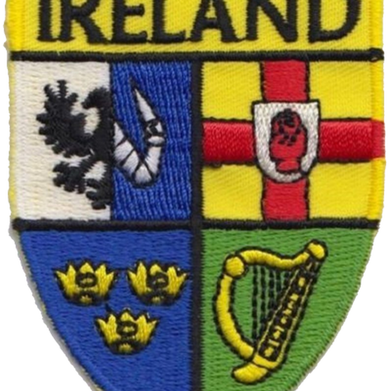 Ireland Counties Shield Patch