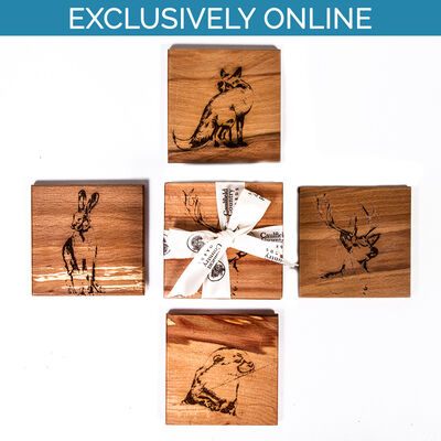 The Native Collection Coasters ( Set of 4)