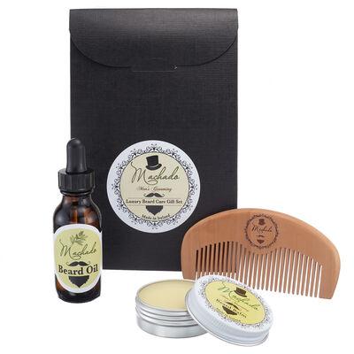 Machado Men's Grooming Beard Care Kit