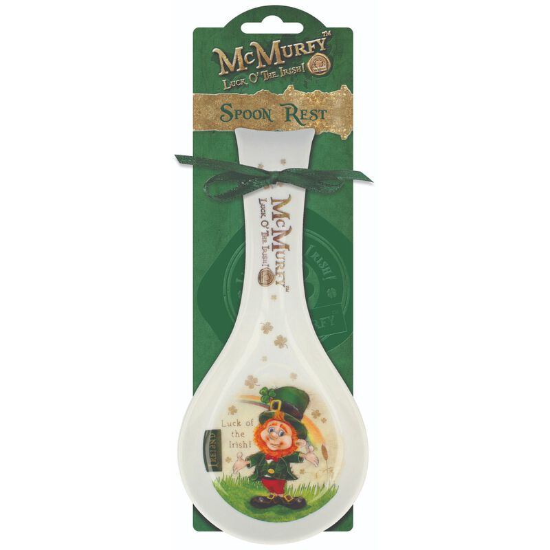 McMurfy Leprechaun Spoon Rest