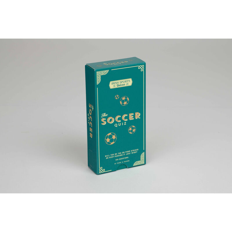 Irish Sports Quizzes The Soccer Quiz Game Set With 100 Questions