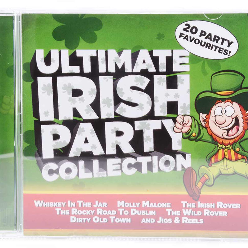 Ultimate Irish Party Collection 20 track CD