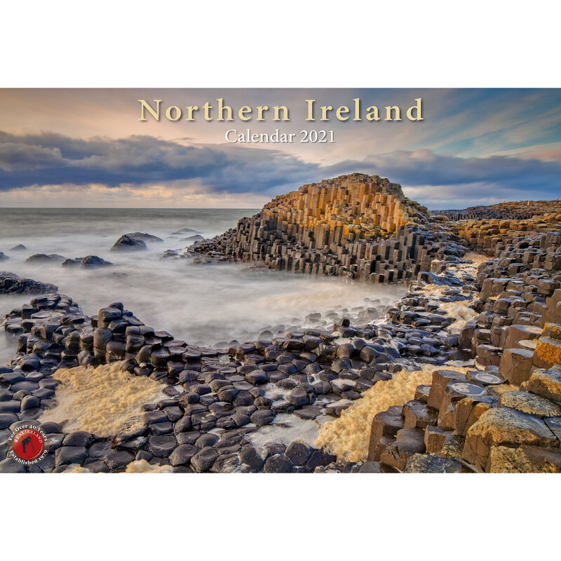 A4 Scenic Views of Northern Ireland Calendar 2021 by Liam Blake