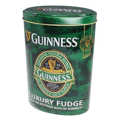 Guinness Ireland Collection Luxury Fudge In Oval Shaped Tin  200G