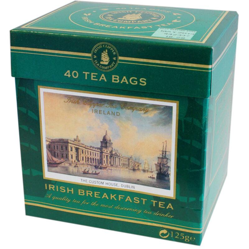 Irish Clipper Company Irish Breakfast Tea Box