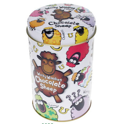 Wacky Woollies Chocolate Sheep In A Can