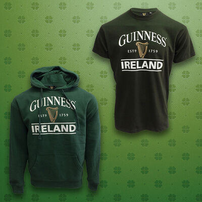 Green Guinness Cosy Clothing Set - Hoodie & T-Shirt