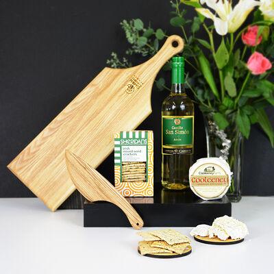 Cheese & White Wine Gift Set (Ireland Only)