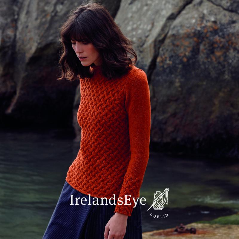 IrelandsEye Knitwear Trellis Sweater