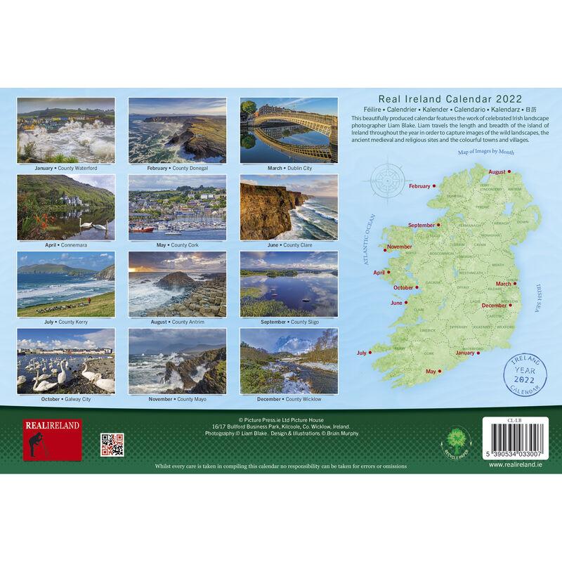 A4 Scenic Views of Ireland Calendar 2022 by Liam Blake