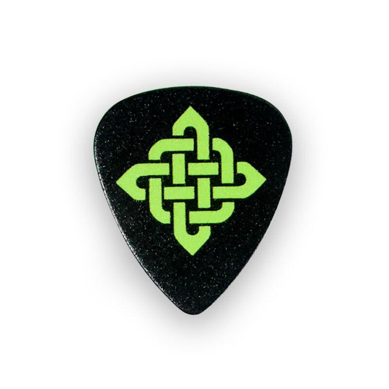 Irish Guitar Picks 6-Pack Of Medium Gauge Plectrums With Various Irish Designs