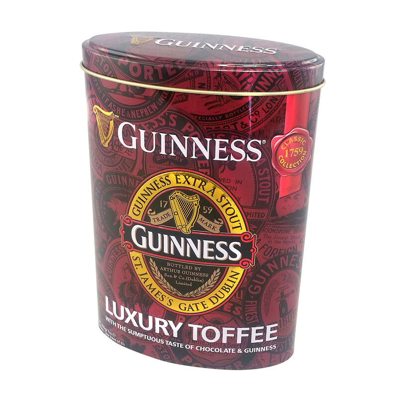Guinness Classic Collection-Luxus-Toffees in ovaler Dose  200 g
