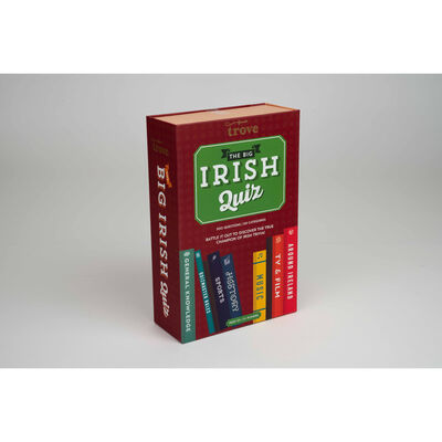 The Big Irish Quiz Trivia Game Set With 300 Questions In Six Categories