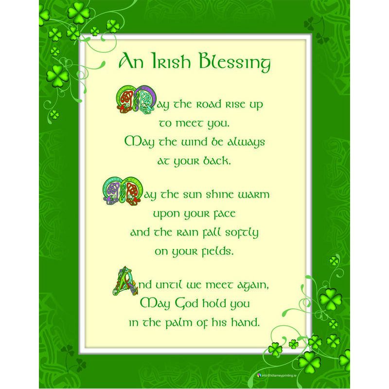 Irish Blessing May The Road 10