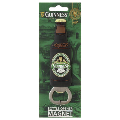 PVC Bottle Opener Magnet with St James Gate Design - Guinness Ireland Collection