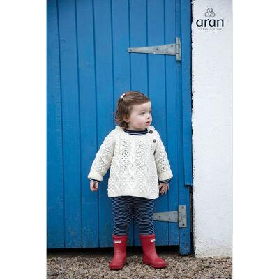 Baby Aran Side-Fastening Hood