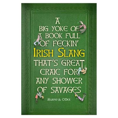 A Massive Book Full of Feckin' Irish Slang That's Great Craic For Any Shower Of Savages