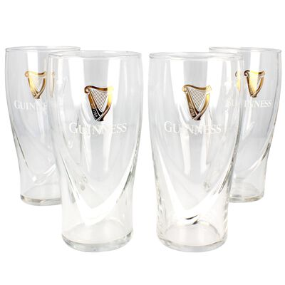 4 Pack Glass Guinness