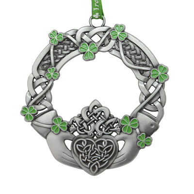 Celtic Hanging Decoration Crafted With Claddagh Design