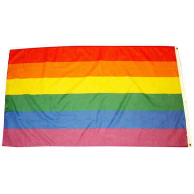 Pride Flag 100% Polyester (3 X 5 Foot)