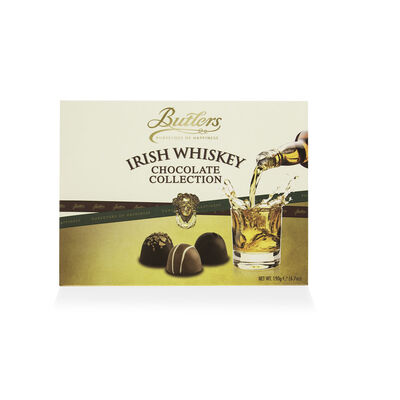 CLEARANCE - Butlers Irish Whiskey Chocolate Collection of 6 Varieties, 190g Box (Two Pack)