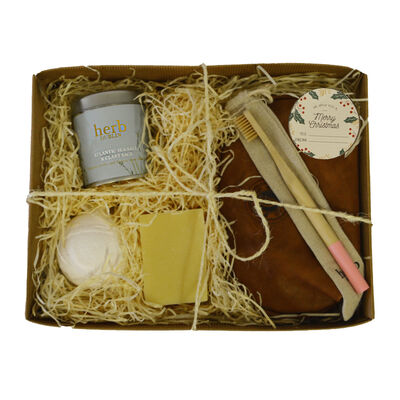 Home Spa Experience Luxury Skincare Christmas Gift Set For Her