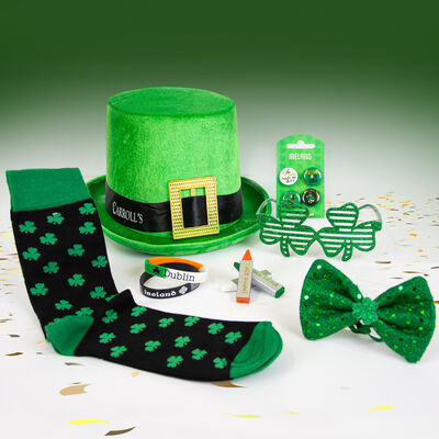St Patricks Day Green Sequin Accessory Pack