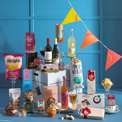 Lets Have A Party Delicious Gift Hamper In A Stylish Wooden Crate (Europe Only)