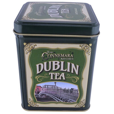 The Connemara Kitchen Tin Of Dublin Tea  Contains 50 Tea Bags