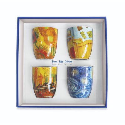 Tipperary Crystal Vincent Van Gough Mug Collection –  Set Of 4