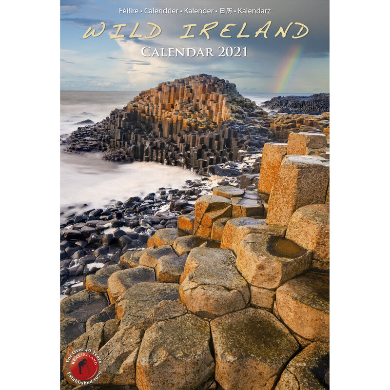A5 Wild Ireland Scenic Views 2021 Calendar Photographer Liam Blake