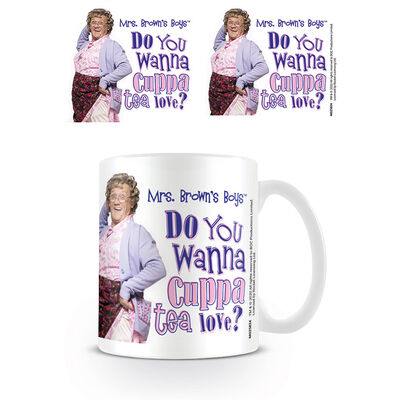Mrs Brown's Boys 'Do You Wanna Cuppa Tea Love? ' Mug
