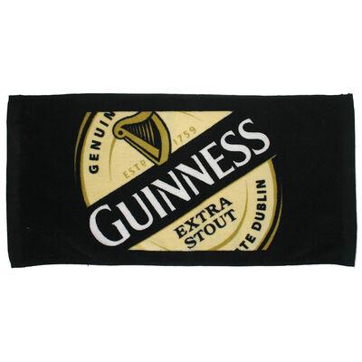 Guinness Barhandtuch - saugfähiges Barhandtuch aus Baumwolle
