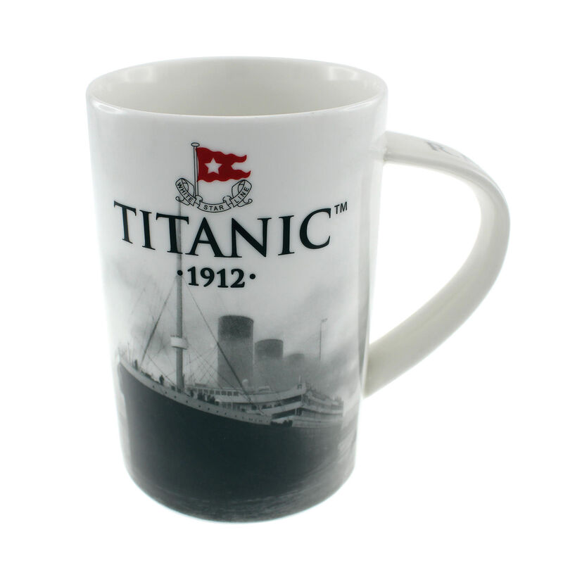 Titanic 1912 White Star Line Collectors Ceramic Bone China Mug