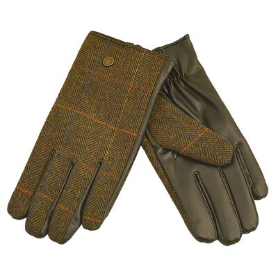The Quiet Man Collection Boxed Traditional Irish Gloves  Brown Colour