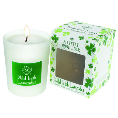 Wild Irish Lavender Scented Candle