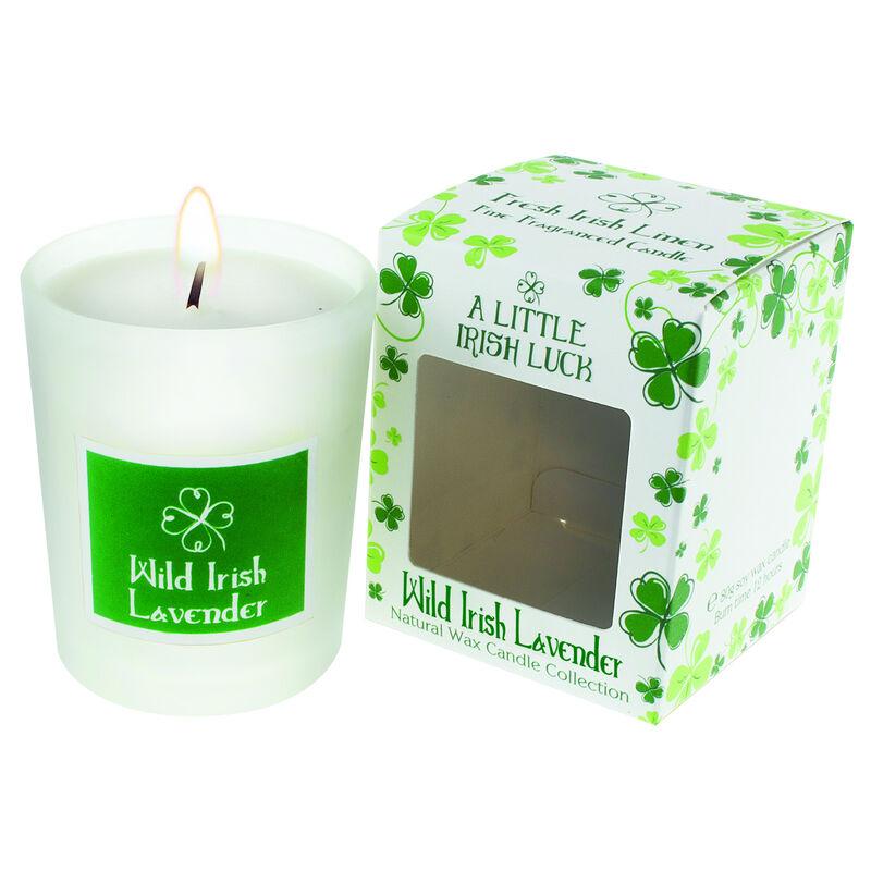 Wild Irish Lavender Scented Candle